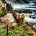 Eagle Harbor Waterfront Trail Bainbridge Island Washington United States