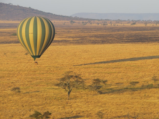 A different view of the Tanzanian Serengeti