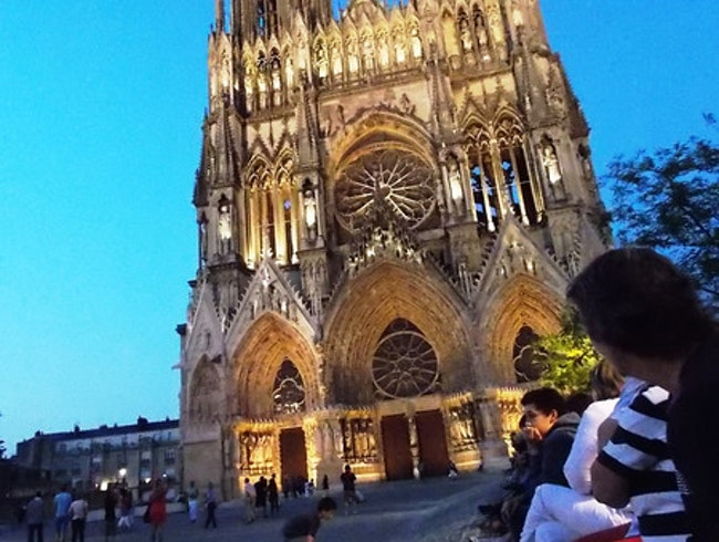Thank God for Reims in the Champagne Region!