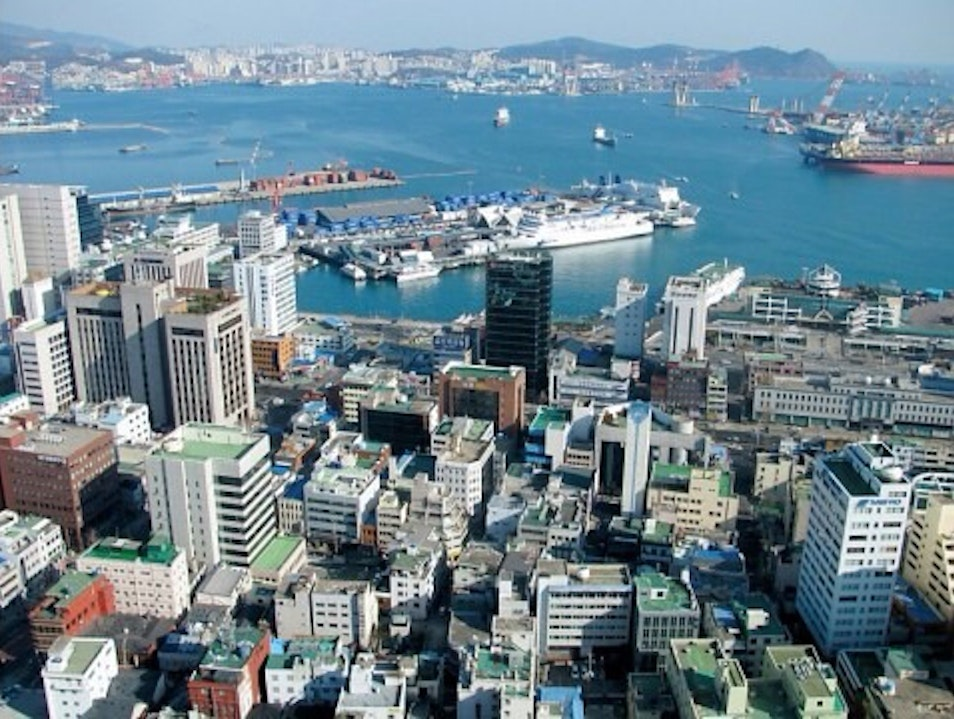 Birdseye View Of Busan