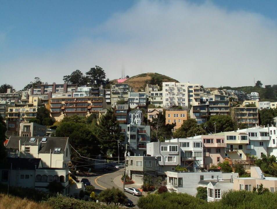Taking Advantage of the Hills of San Francisco San Francisco California United States