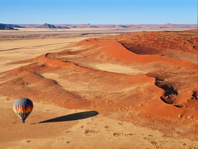 Hot Air Ballooning at Sossusvlei, Namibia