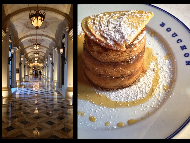 For the Best Breakfast in Las Vegas, go for French in The Venetian