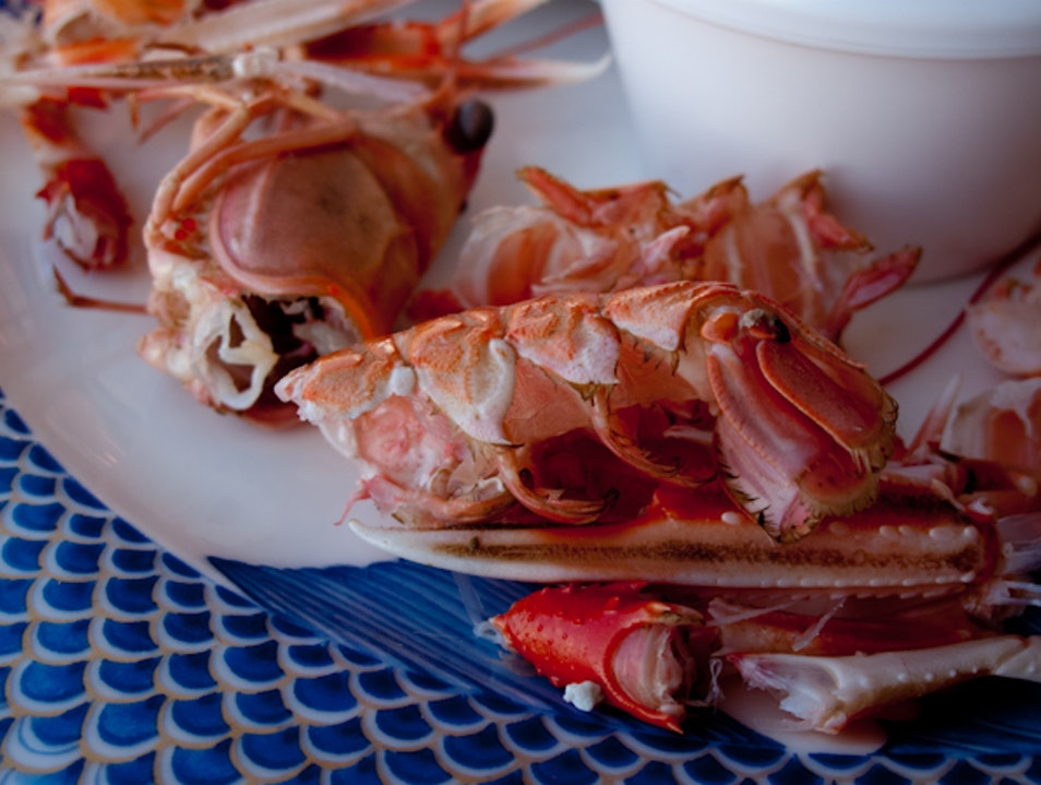La Mère Champlain: Serving Brittany's Bountiful Seafood on the beach