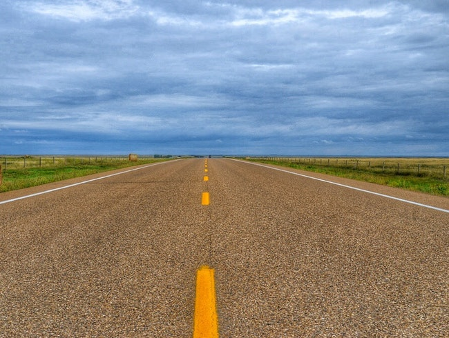 The Open Road of Alberta