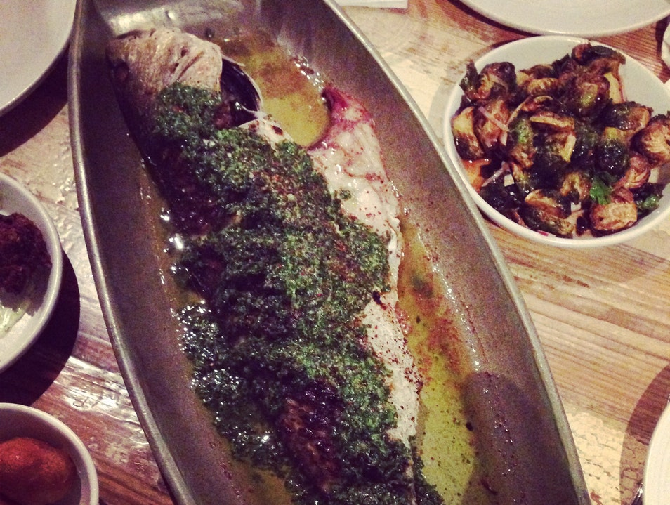Get the Whole Redfish at Peche New Orleans Louisiana United States