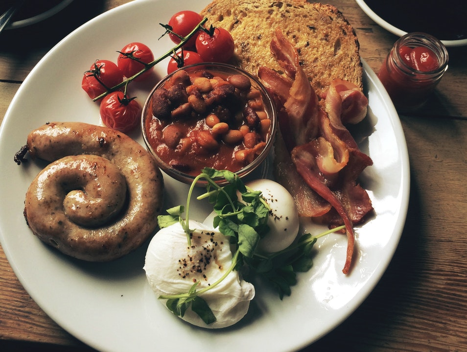 English Breakfast  London  United Kingdom