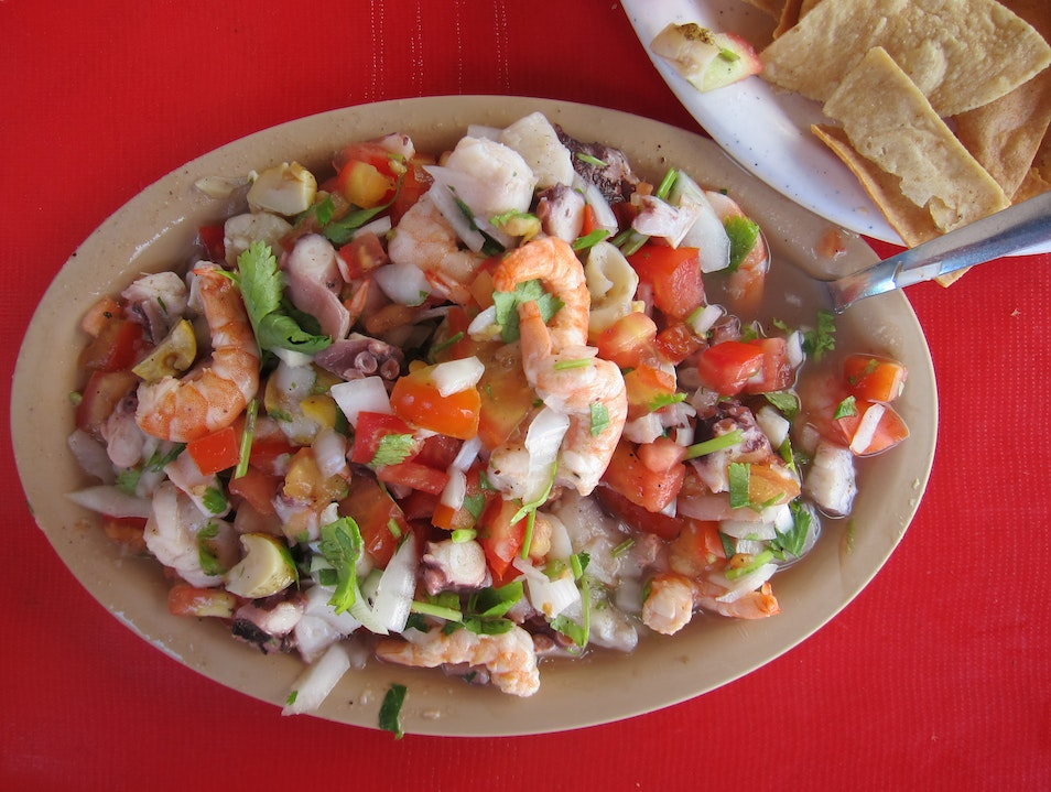 Ceviche Galore Muyil  Mexico