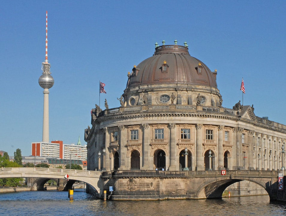 The Bode Museum on Museum Island Berlin  Germany