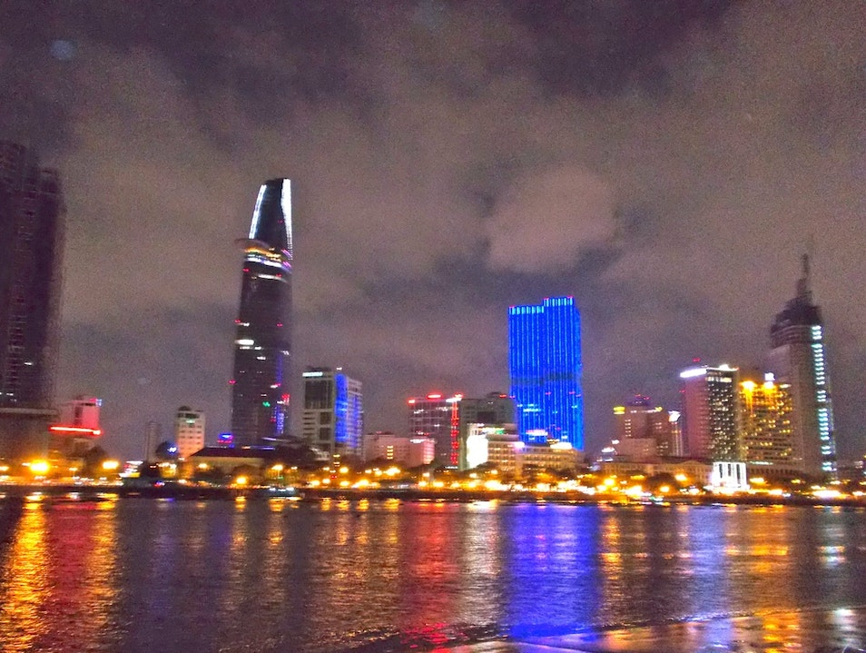 The View from District 2  Ho Chi Minh City  Vietnam