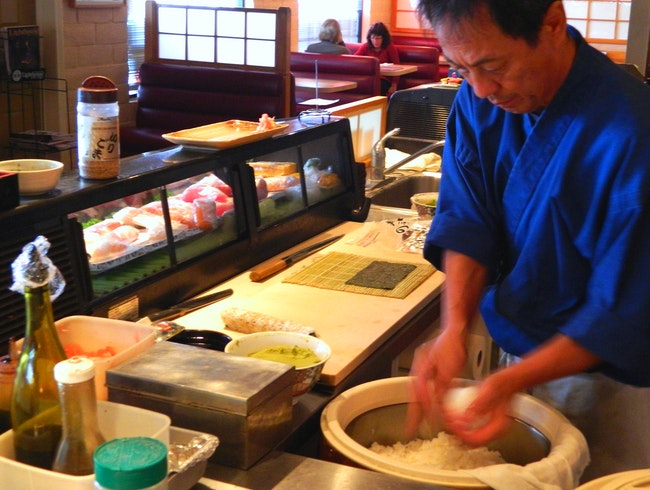 Japanese food at a great price