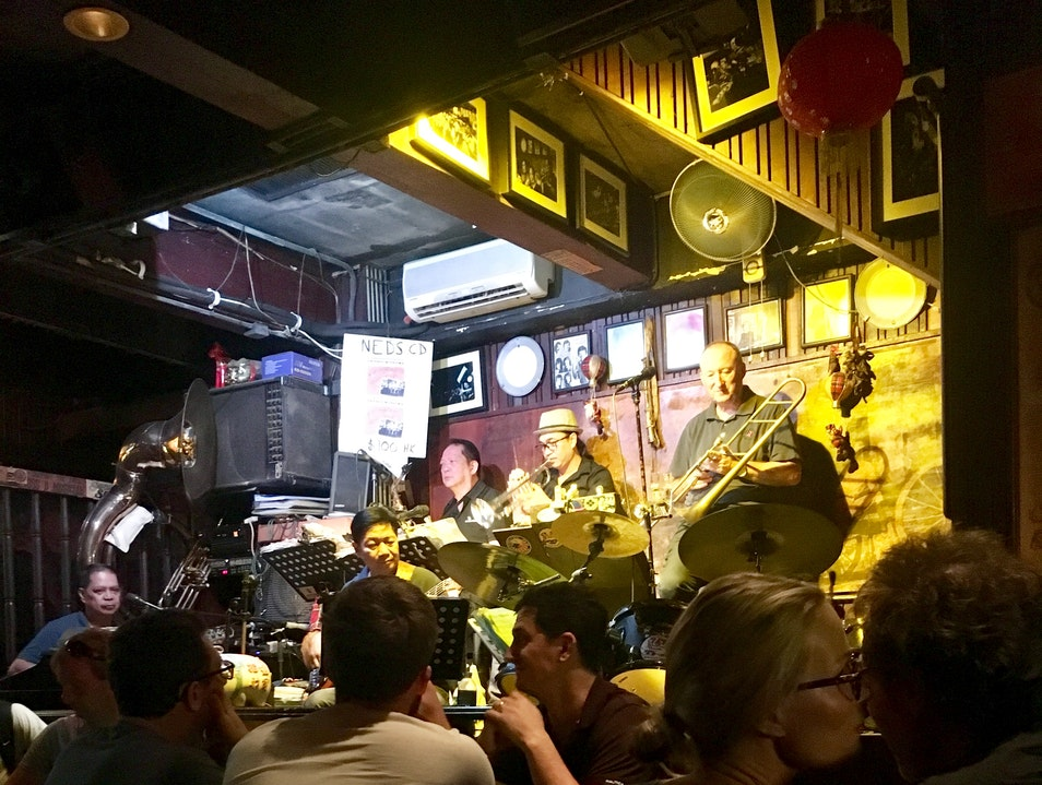 Beer and Jazz in Kowloon