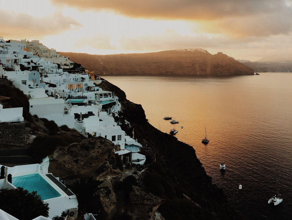 Sunrise in Oia