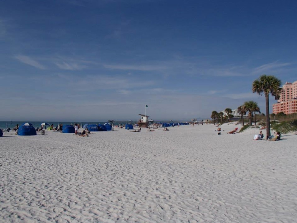 One of the best beaches in America Clearwater Florida United States