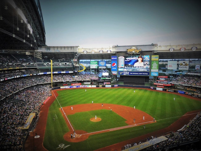 Brewers Baseball at Miller Park