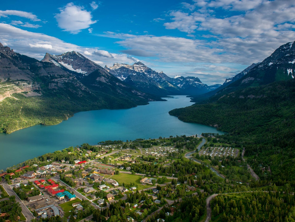 Climb the Bear's Hump for Cross-Border Views Waterton  Canada