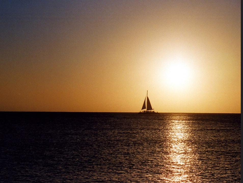 See a Regatta or Learn to Sail  Grand Harbour  Cayman Islands