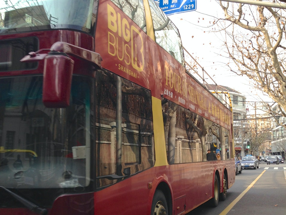 Big Bus Tours Shanghai  China