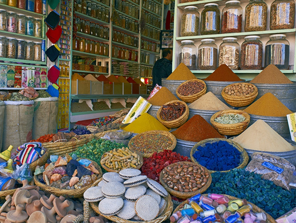 The Medina's Second Square Marrakesh Medina  Morocco