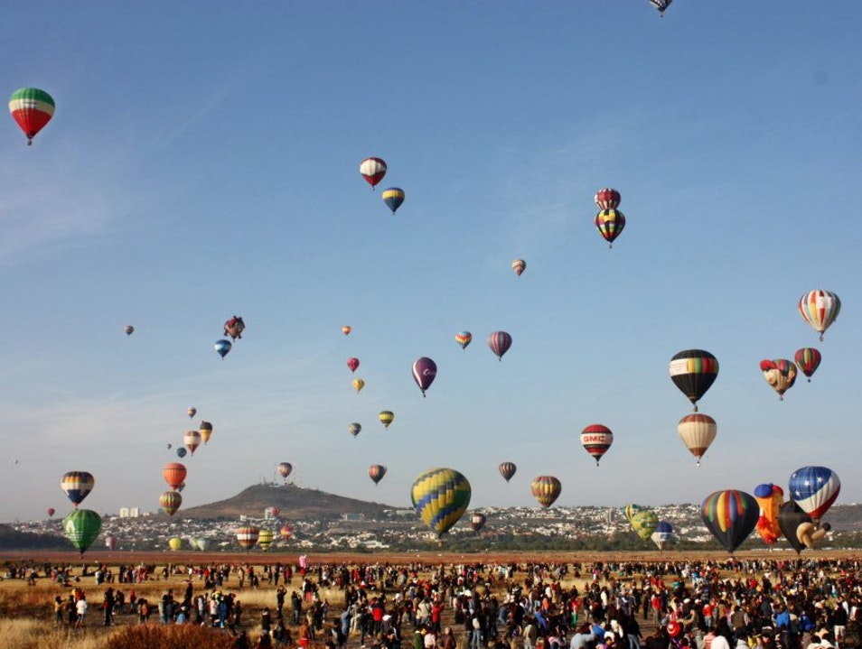 International Balloon Festival León  Mexico