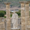 The Roman ruins of Baelo Claudia Bolonia  Spain