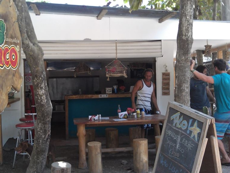 The Best Taco Stand in the World Puntarenas  Costa Rica