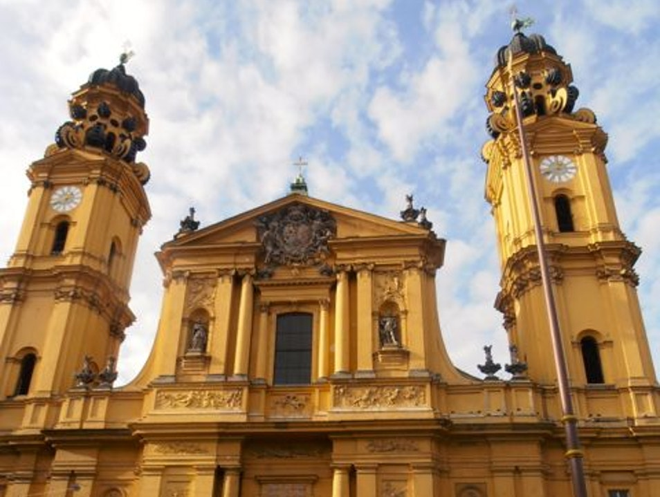 Theatine Church: Italian Baroque Masterpiece Munich  Germany