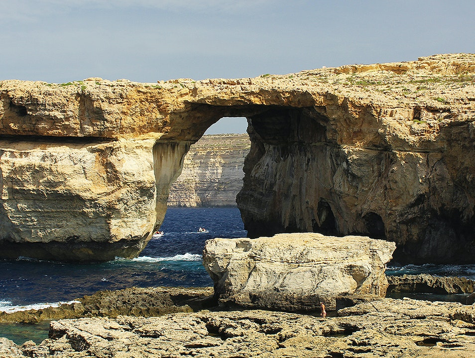 Azure Window San Lawrenz  Malta