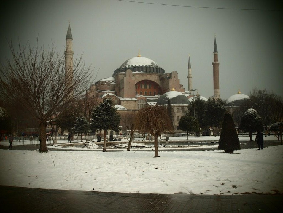 When Snow Kisses Istanbul Istanbul  Turkey