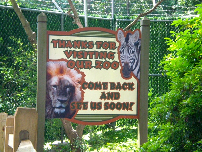 The Cape May County Zoo, New Jersey