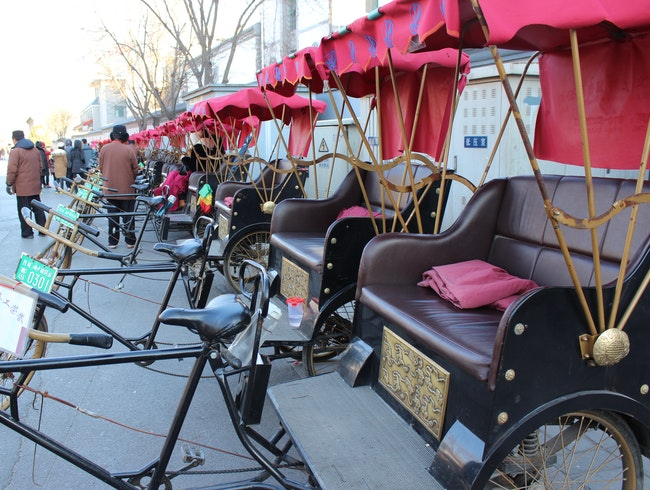 Pedicabbing Through the Heart of Beijing