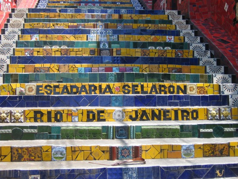 Famous Stairs in Rio   Earth