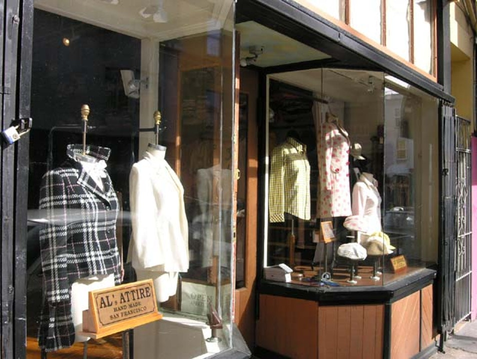 Head to Al's Attire for Bespoke Clothing and Shoes in San Francisco