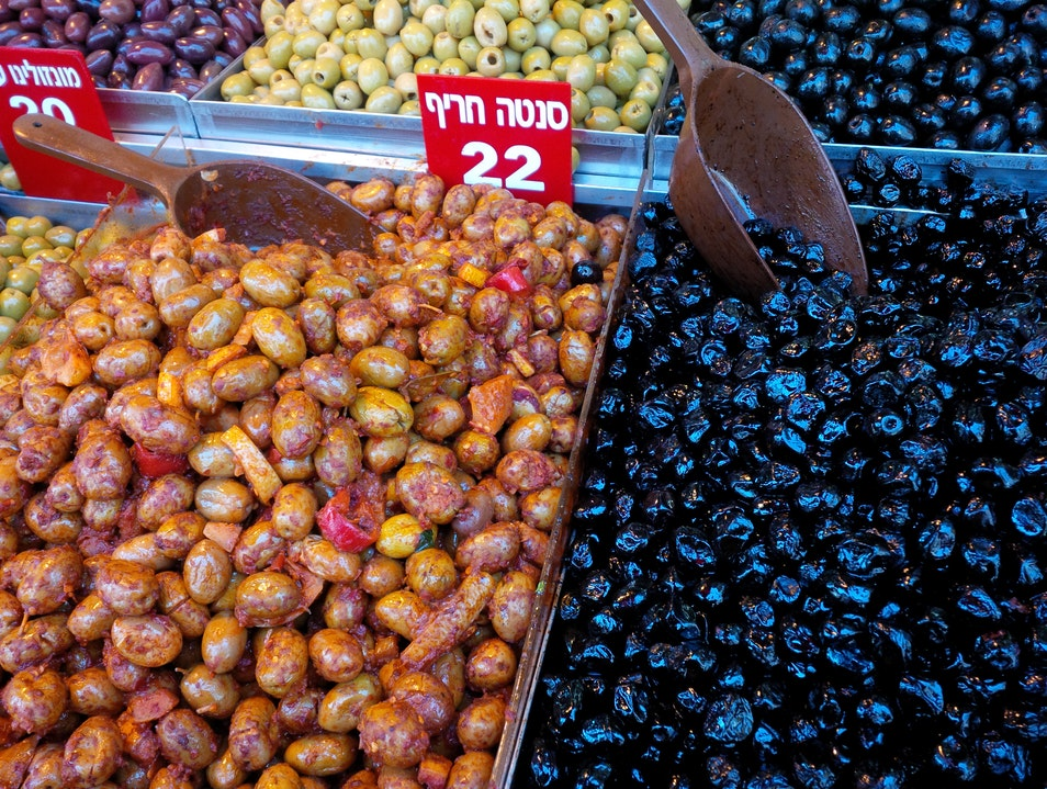 The land of milk and honey.  And olives. And hummus. Jerusalem  Israel