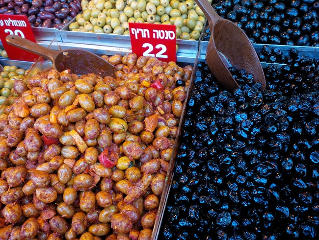 The land of milk and honey.  And olives. And hummus.