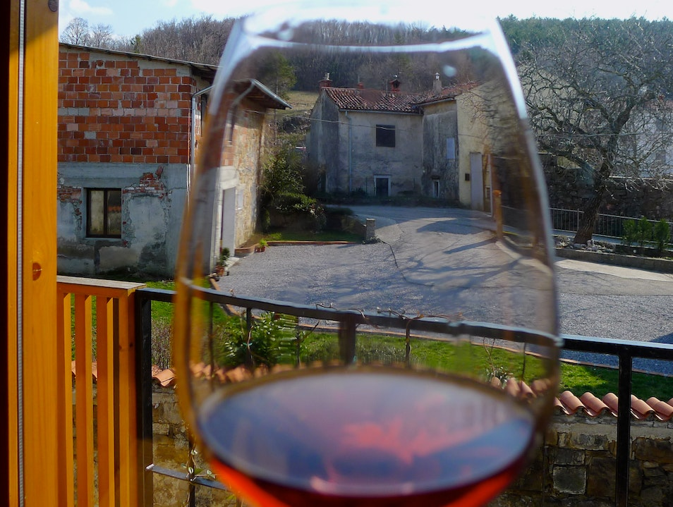 Sip Organic Wines in the Slovenian Countryside Planina  Slovenia