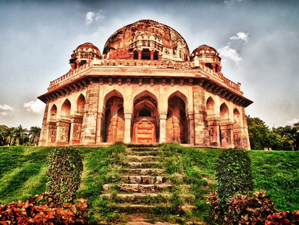 Peaceful Retreat at Lodi Gardens New Delhi  India