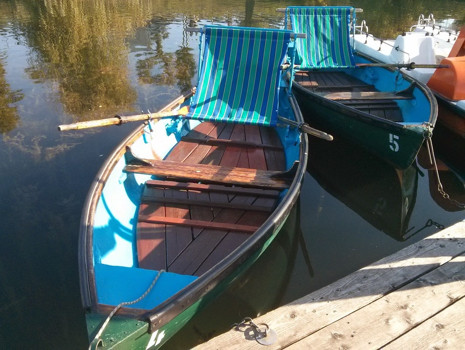 Rental Boats on the Old Danube river