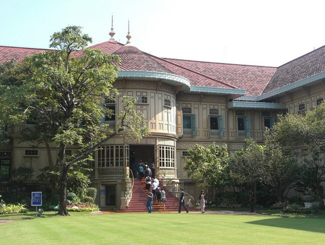 Vimanmek Teak Palace, Dusit Throne Hall, and Royal Elephant Museum