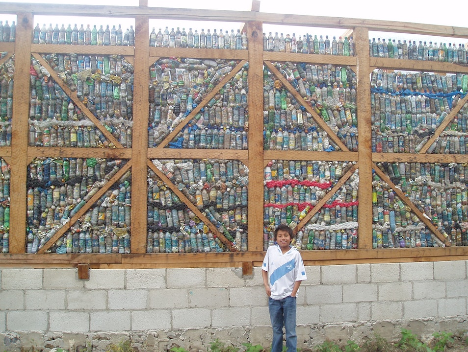 Guatmalans Know How to Recycle San Juan La Laguna  Guatemala
