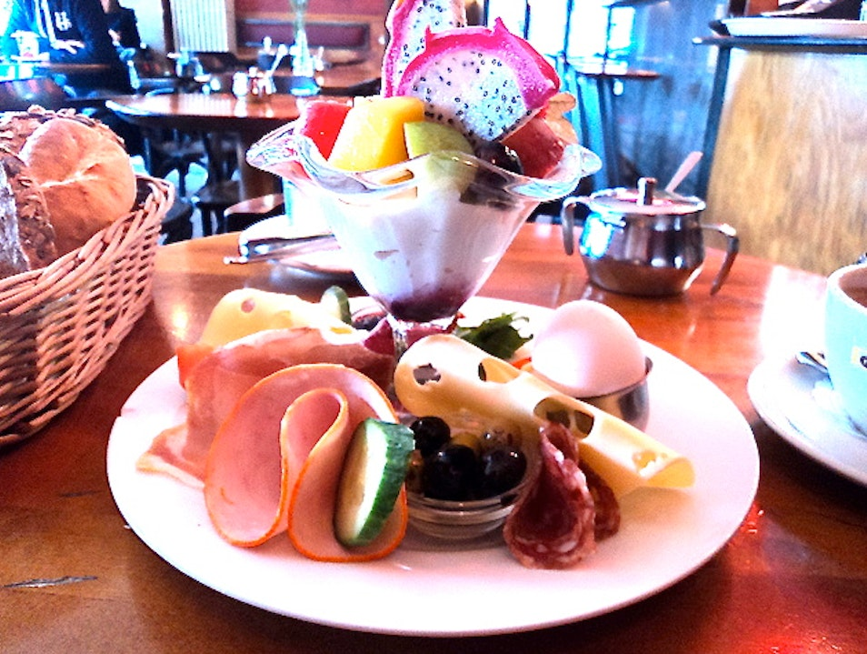 Feed your hangover with brunch at Cafe Morgenland Berlin  Germany