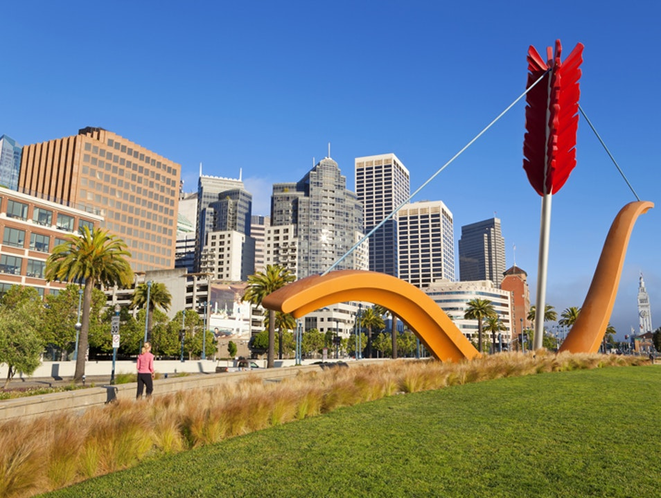 Modern Art in San Francisco, Inside and Out San Francisco California United States