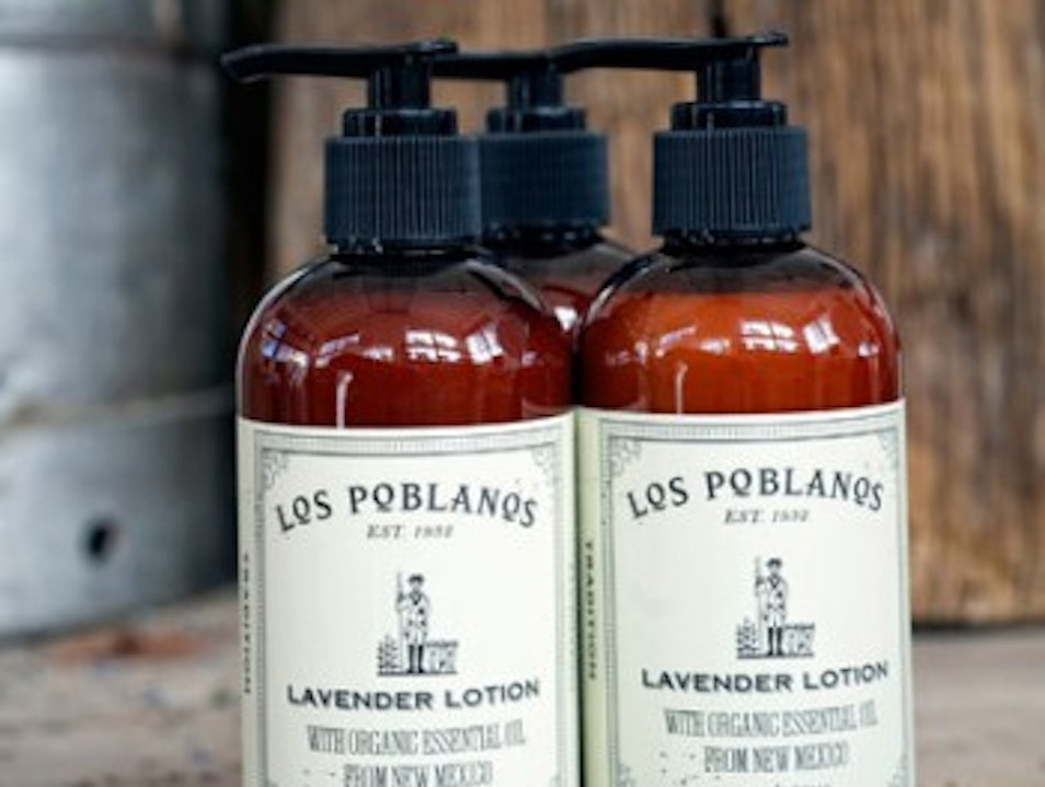 House-made lavender lotions and soaps Los Ranchos de Albuquerque New Mexico United States