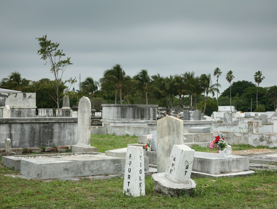 Key West Cemetery Key West Florida United States