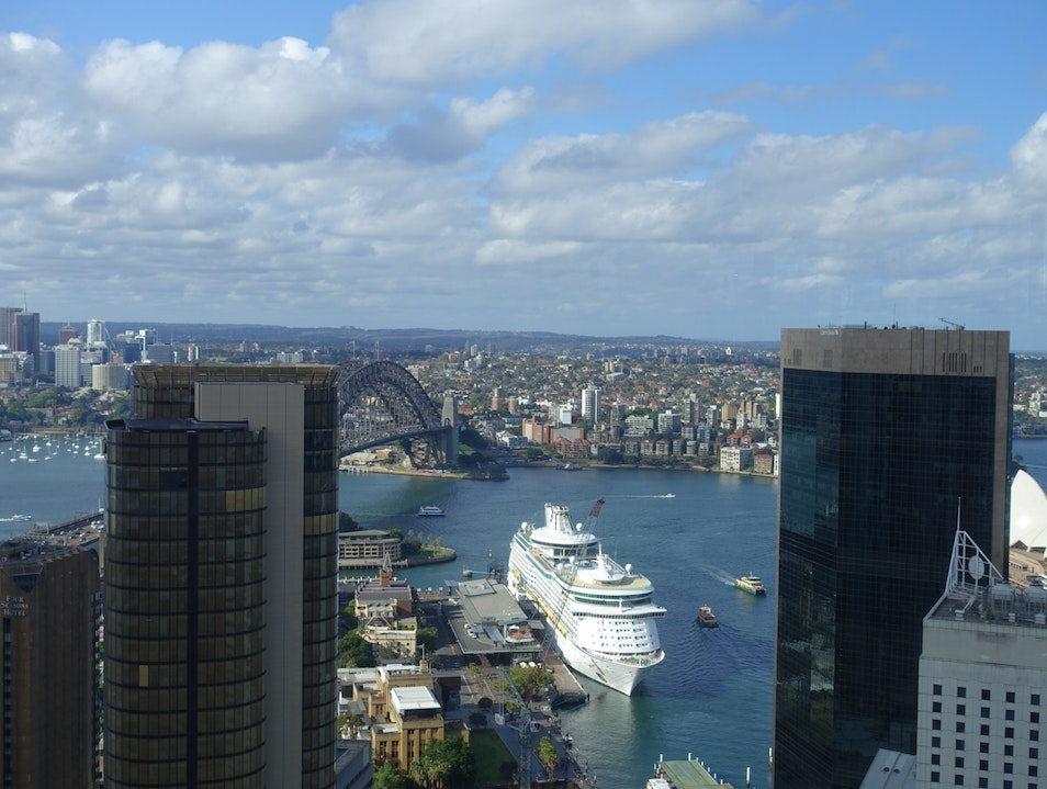 Sweeping views of the city Sydney  Australia