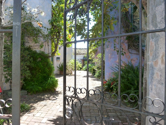 Enchanting Courtyards of Santa Barbara, California