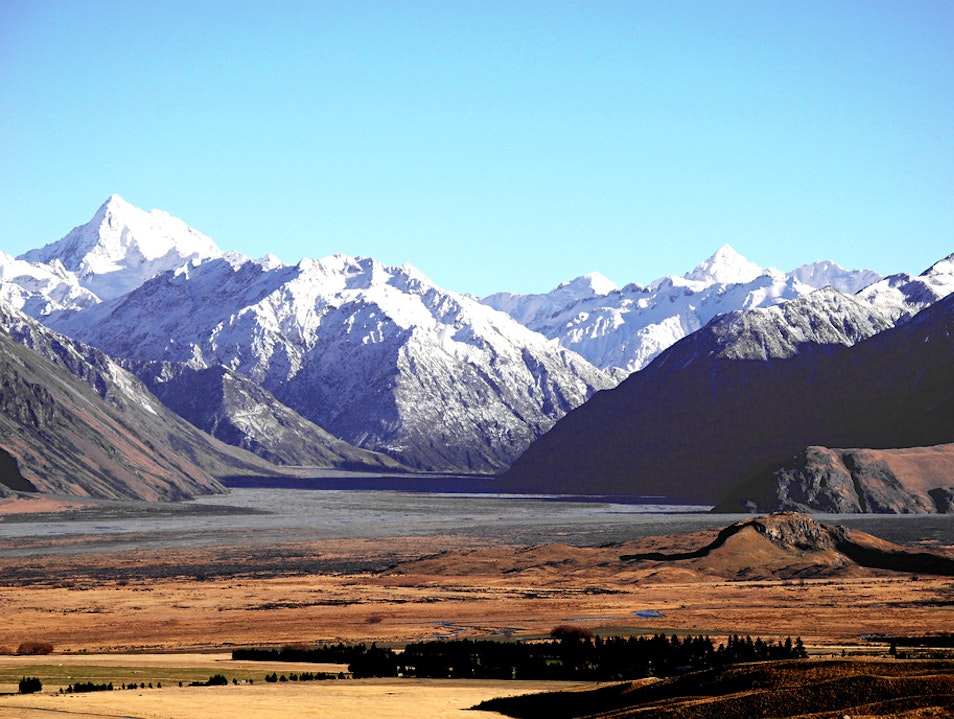 The Beautiful Mountains   New Zealand