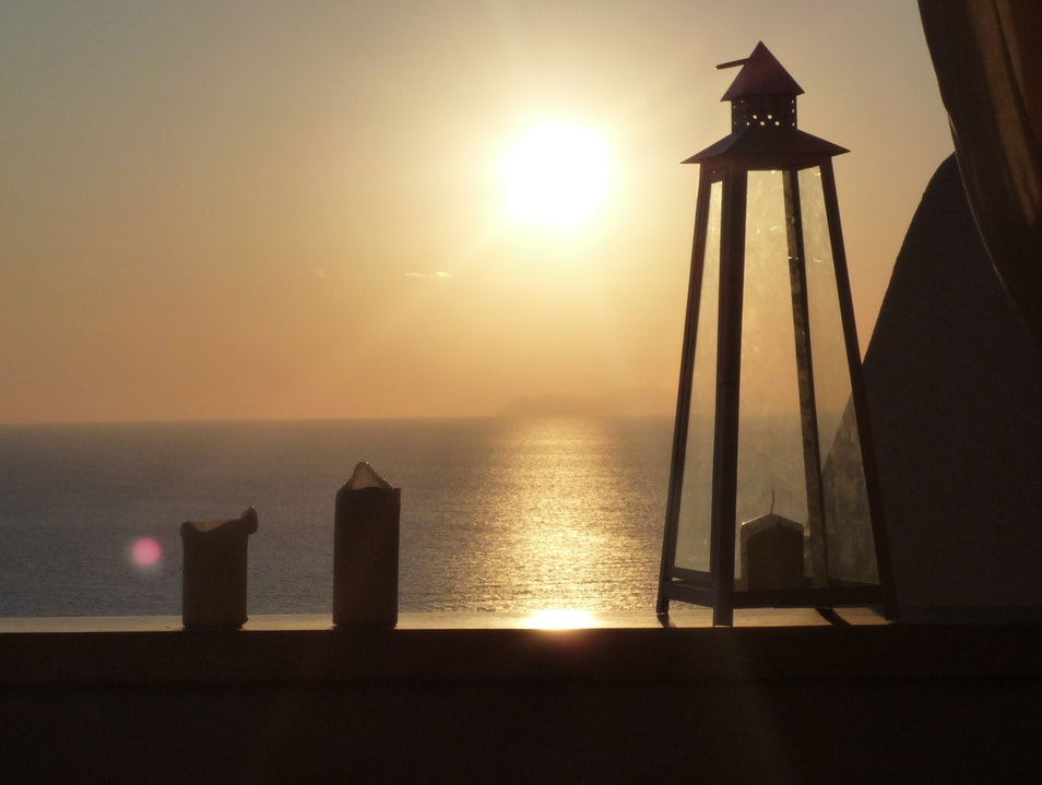 Oia Castle Luxury suites the right place to stay to enjoy the direct sunset view Oia  Greece