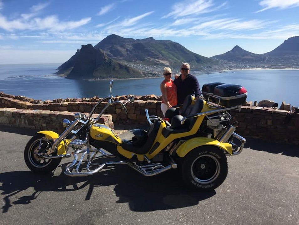 Full day Cape Point & peninsula trike tour. Cape Town  South Africa