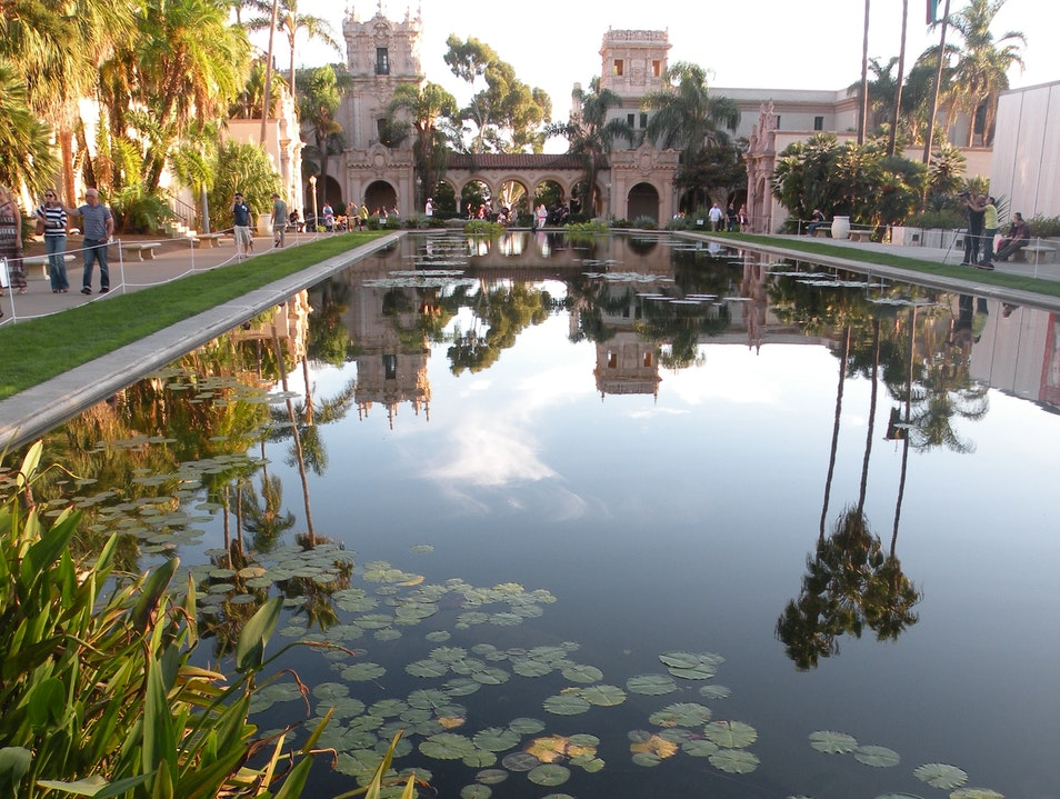 World-Famous Balboa Park San Diego California United States
